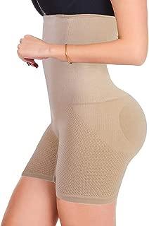 FUT Womens Shapewear Tummy Control Shorts High-Waist Panty Thigh Slimmers Body Shaper Bodysuit