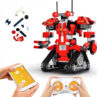 Mould King Remote Control Building Block Robot Kit with...