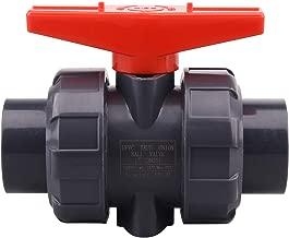 double union end ball valve