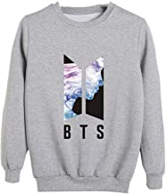 Fittrame BTS Merchandise Pullover Kpop Bangtan Boys Sweatshirt Multiple Colors Clothes
