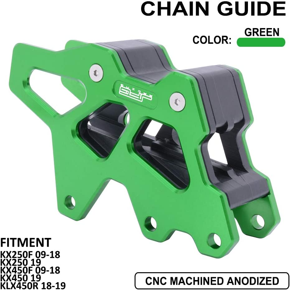 Al sold out. Mail order Chain Guard Guide Protector CNC KX250F 2 Aluminum Protection For