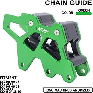 AnXin Motorcycle CNC Chain Guide Guard Protection For Kawasaki KX250F 2009-2018 KX250 2019 KX450F 2009-2018 KX450 2019 KLX450R 2018-2019