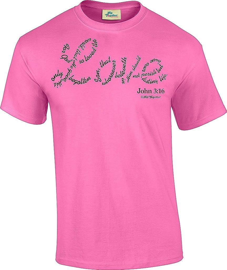 John 3:16 Denim Shirt