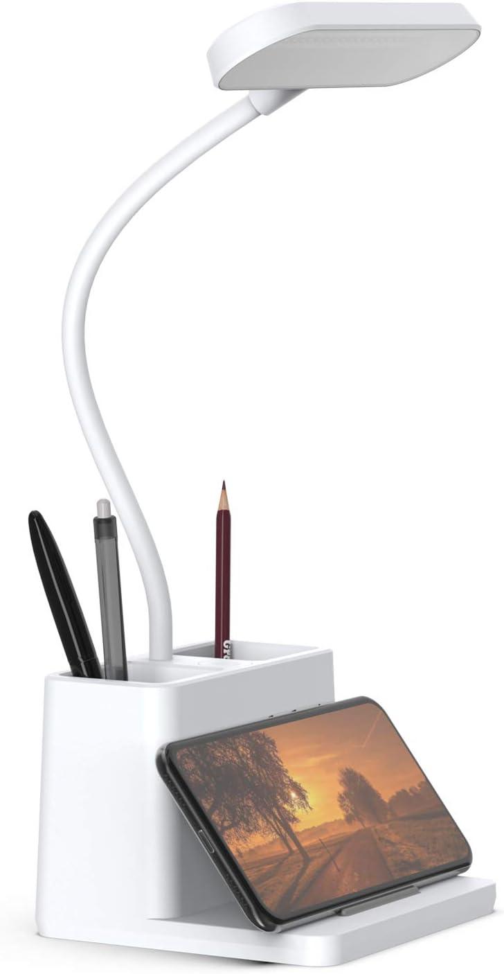 LED Desk Max 85% OFF Lamp with Pen Holder specialty shop Computer for Deskt AXX Light