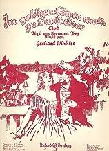 Im goldenen Löwen war's zu St. Goar: Einzelausgabe Gesang und Klavier