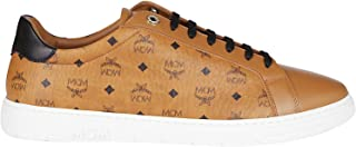 Luxury Fashion | Mcm Men MEXAAMM11CO Beige Leather Sneakers | Autumn-winter 20