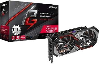 ASRock 8GファントムゲーミングD Radeon RX 5500 XT OCビデオカードモデルRX5500XT PGD 8GO