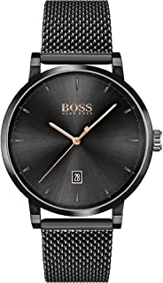 Hugo Boss Mens Analogique Quartz Montre avec Bracelet en Acier Inoxydable 1513810