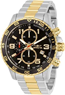Men's 14876 Specialty Chronograph 18k Gold Ion-Plated and...
