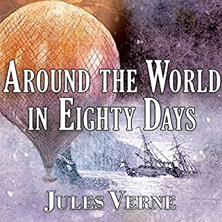 Around the World in Eighty Days                   By:                                                                                                                                 Jules Verne                               Narrated by:                                                                                                                                 Gordon Griffin                      Length: 7 hrs and 25 mins     20 ratings     Overall 4.7