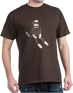 CafePress Sock Monkey Classic 100% Cotton T-Shirt