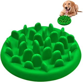 PETBABA Dog Bowl Slow Feeder, Interactive Maze Nonslip Feed Dish, Against Bloat in Eating Food, Keep Cat Pet Healthy