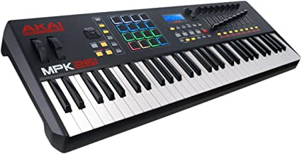 Akai Professional MPK261 | 61-Key Semi-Weighted USB MIDI Keyboard Controller Including Core Control From The MPC Workstations
