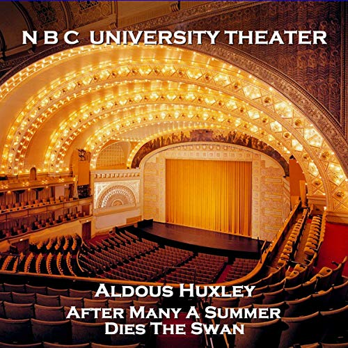 NBC University Theater: After Many a Summer Dies the Swan cover art