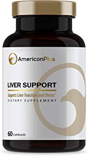 Liver Supplement with Milk Thistle, NAC (N-Acetyl Cysteine), Dandelion Root, Picrorhiza, 7 Other Liver Detoxifiers for Sup...