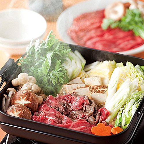 和平フレイズ鉄焼肉すきやき鍋26×26cm角型ガスコンロ専用彩食庵SM-8557