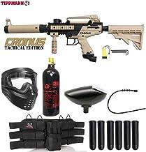 Maddog Tippmann Cronus Tactical Titanium Paintball Gun Package