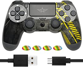 $21 » Wireless Controller Compatible with PS4 - Game Joystick Gamepad with Charging Cable Compatible with PS4/ Slim/Pro/PC…