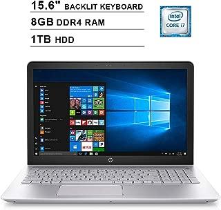 2019 HP Pavilion 15.6 Inch FHD Laptop (8th Gen Intel Quad Core i7-8550U up to 4.0GHz, 8GB DDR4 RAM, 1TB HDD, NVIDIA GeForce 940MX 4GB, Backlit Keyboard, Bluetooth, Windows 10)