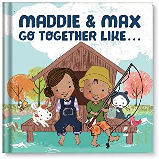 Gift for Siblings, Brother Sister, BFF Best Friends, Custom Book for Kids Boys Girls