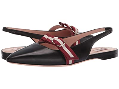 Bally Ali Flat (Black) Women