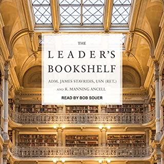 The Leader's Bookshelf audiobook cover art