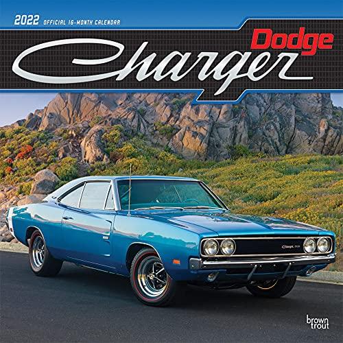 Dodge Charger 2022 Square: Original BrownTrout-Kalender