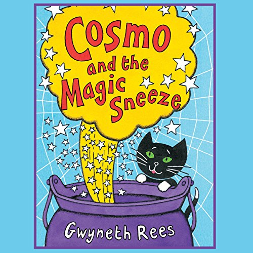 Cosmo and the Magic Sneeze audiobook cover art