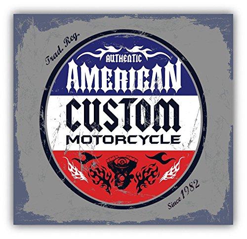 Custom Motorcycle Bike Grunge Auto Moto Alta Calidad De Coche De Parachoques Etiqueta Engomada 12 x 12 cm