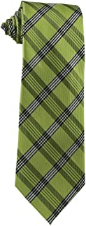 Children's Tie (ages 8-14 years old) Willow Green Plaid Youth Tie