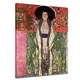 Wandbild Gustav Klimt Portrait der Adele Bloch-Bauer -