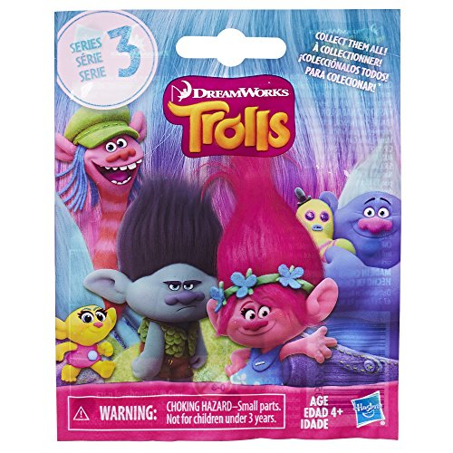 DreamWorks Trolls Surprise Mini Figure, Series may vary