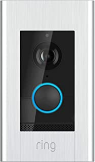 Ring Video Doorbell Elite - Cámara de Timbre inalámbrica (802.11b/g/n, 2,4 GHz, 5 GHz)