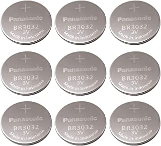 Panasonic Br3032 Br 3032 Lithium 3v Battery (9-Pack)