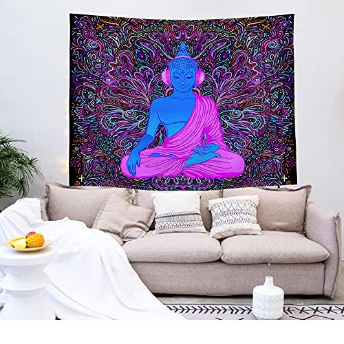 NTtie Bohemiska affischer gobelänger gobeläng vägghängande dekorativ sovsal dekor hängande tyg bakgrund tyg buddha tryck