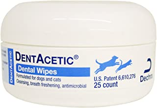 dechra dentacetic dental wipes