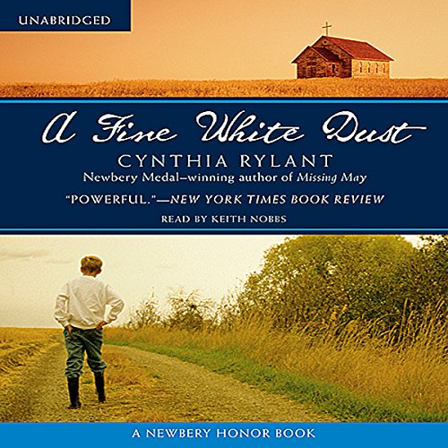 A Fine White Dust Audiobook By Cynthia Rylant cover art