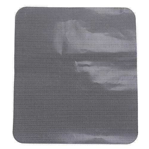 ZALING DIY Auto Sonnenschutzfolie Sonnenschutz Fenster Abdeckung Schwarz PVC Sonnenschutz Seitenscheibe mit kleinen Löchern