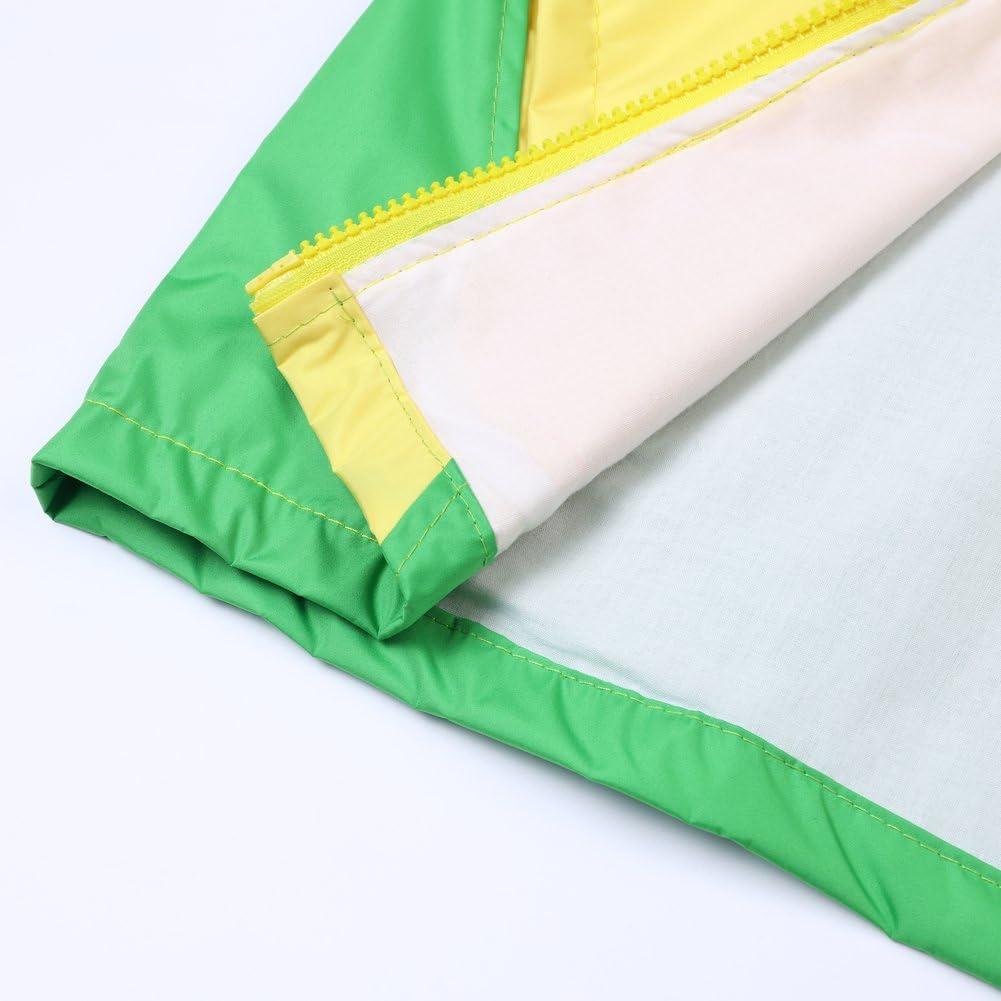 LZH Toddler Boys Girls Raincoat Waterproof Jacket Coat Hooded