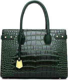 comprar comparacion Tisdaini® Mujer Bolsos Bandolera Moda Textura de cocodrilo Proceso de Estampado Bolsos Totes Bandolera