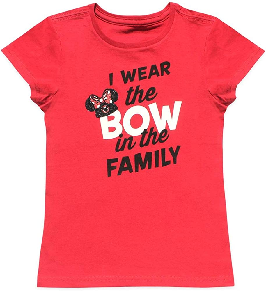 Disney Minnie Mouse Mouseketeer Ear Hat T-Shirt for Girls