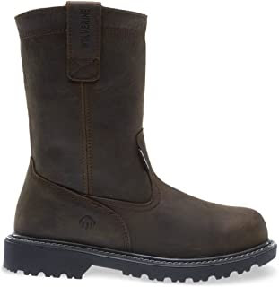 "Wolverine Men's Floorhand Waterproof 10"" Soft Toe Work Boot"