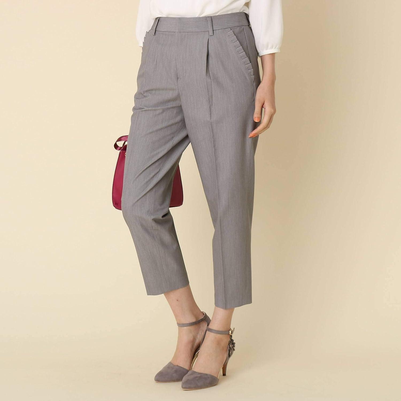 (クチュールブローチ) Couture Brooch 【WEB限定サイズ(SS?LL)あり】【洗える】プリーツポケットテーパードパンツ 50866004