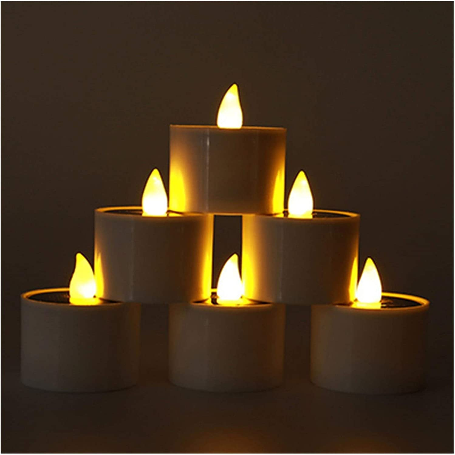 Jgzwlkj Candle Lights Solar Candles Lamp Popular brand in the world Elect Washington Mall Flickering