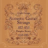 ARIA アリア AGS-200L×3セット アコースティック弦/フォスファー・ブロンズ