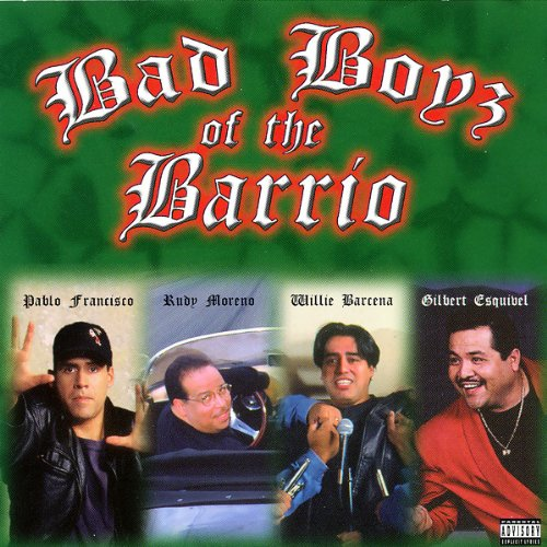 Bad Boyz of the Barrio audiobook cover art