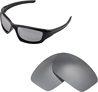 Walleva Replacement Lenses for Oakley New Valve(2014&After) Sunglasses - Multiple Options Available
