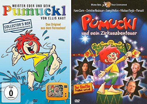 Pumuckl DVD Box - Staffel 1 + Pumuckl und sein Zirkusabenteuer im Set - Deutsche Originalware [5 DVDs]