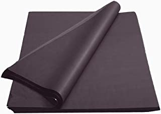 Crown 480 Sheets Bulk Pack Black Tissue Paper Gift Wrap - Ream of Paper - 15 inch. x 20 inch. Wrapping Tissue Paper - for Scrapbooking Paper, Art n Crafts, Wrapping Christmas Gifts and More!!