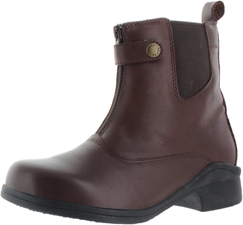 Sanita Women's Brittany Zipper Ankle Fashion Boot